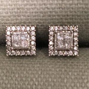 Diamond Chip Earrings